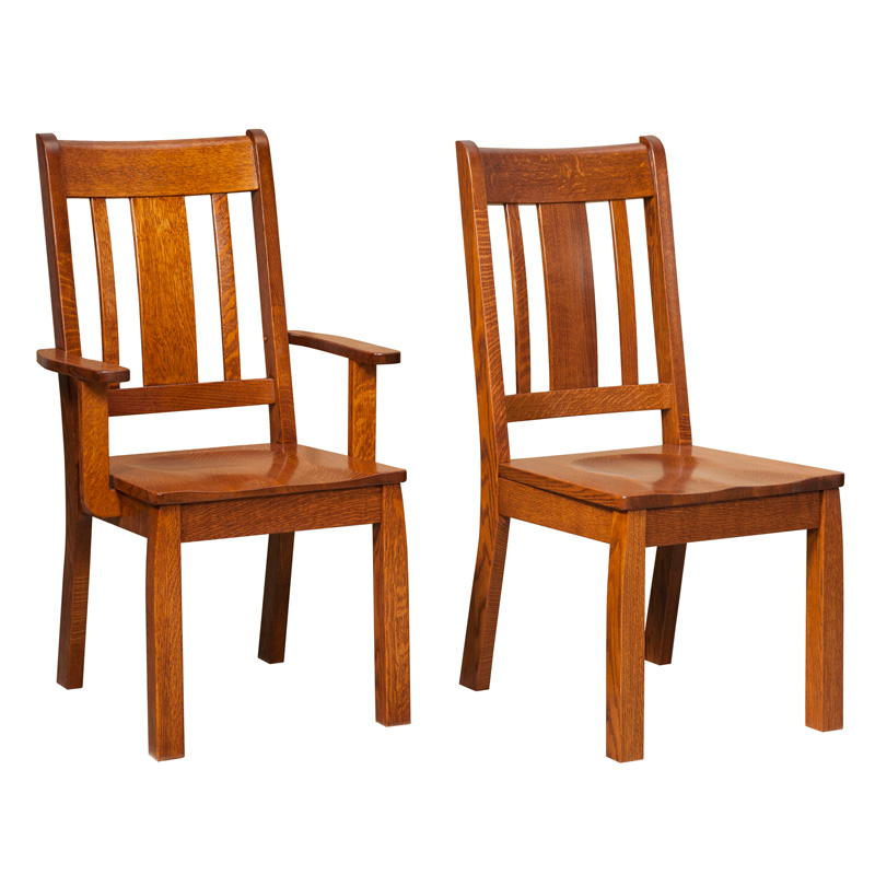 Amish Bordeaux Dining Chairs | Amish Furniture | Shipshewana Furniture Co.
