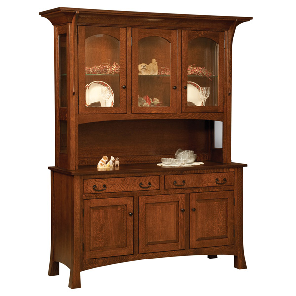 Amish Boston Hutch | Amish Furniture | Shipshewana Furniture Co.