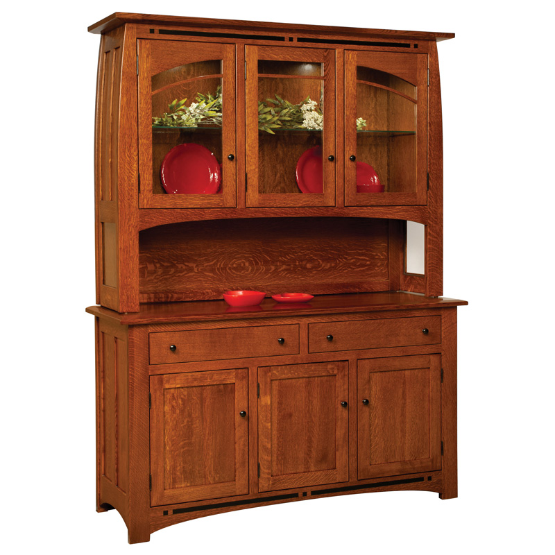 Amish Boulder Creek Hutch | Amish Furniture | Shipshewana Furniture Co.