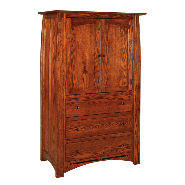 Boulder Creek 3 Drawer Armoire