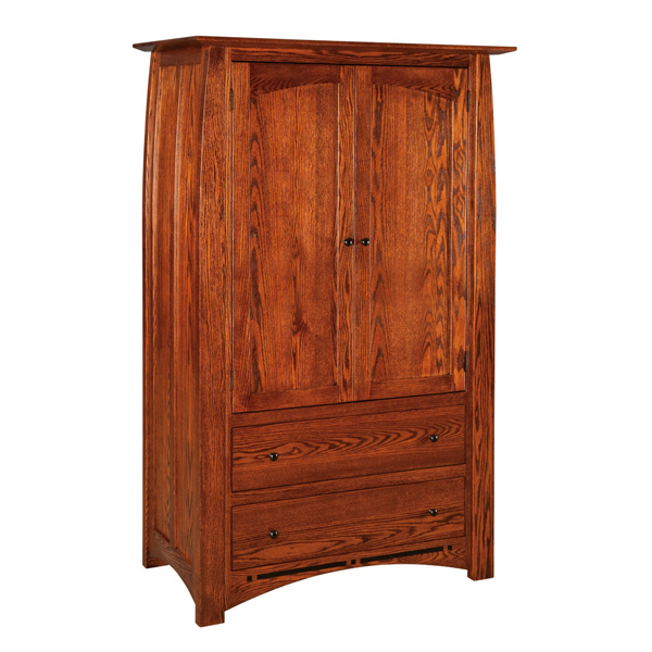 Boulder Creek 2 Drawer Armoire