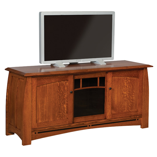 "Boulder Creek 63"" TV Stand (No Drawers)"