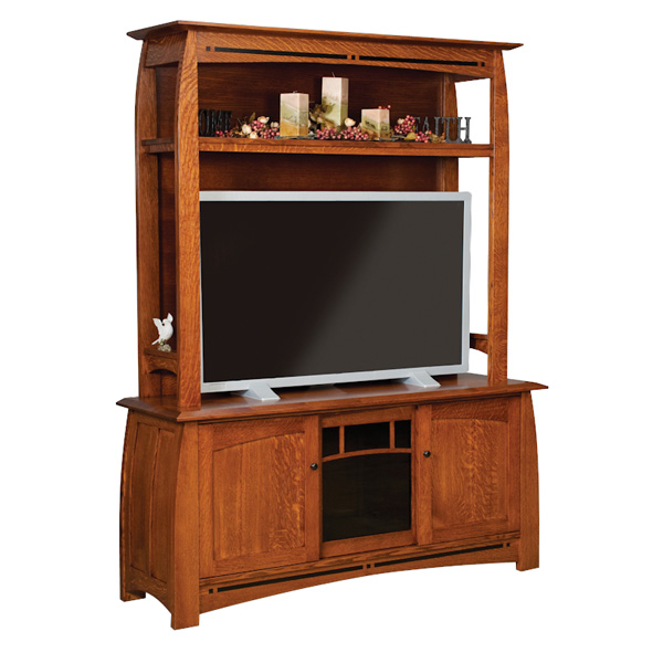 Amish Boulder Creek TV Cabinet | Amish Furniture | Shipshewana Furniture Co.