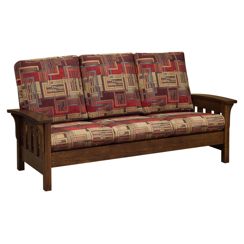 Amish Bow Arm Sofa | Amish Furniture | Shipshewana Furniture Co.