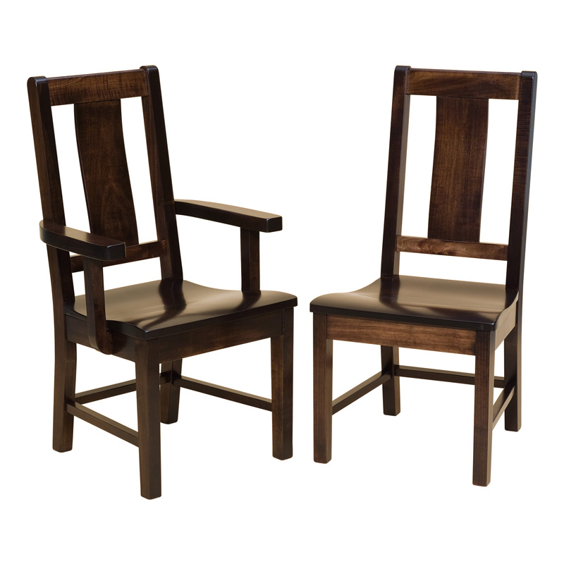 Amish Bradley Dining Chairs | Amish Furniture | Shipshewana Furniture Co.