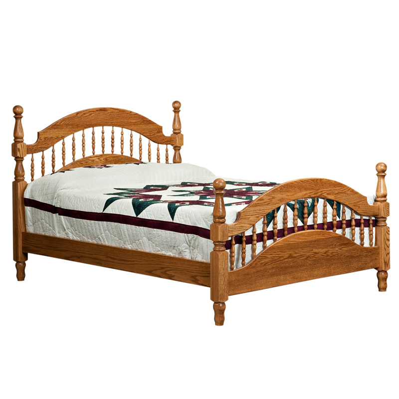 Amish Brentwood Bed | Amish Furniture | Shipshewana Furniture Co.