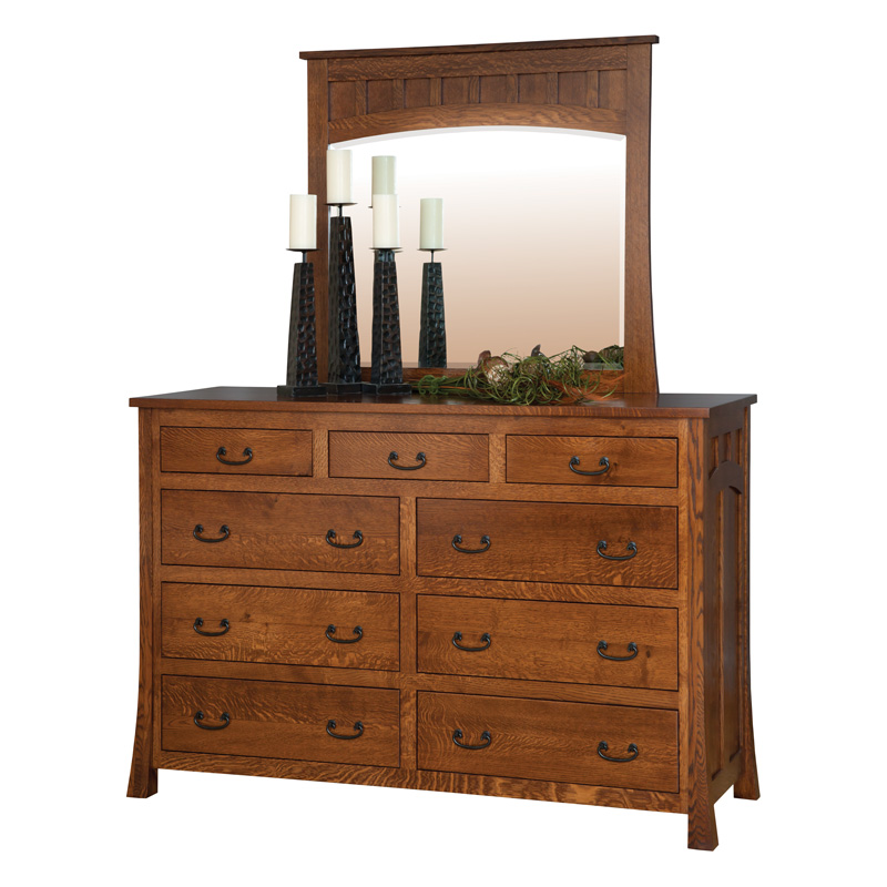 Amish Bridgeport Mule Dresser | Amish Furniture | Shipshewana Furniture Co.