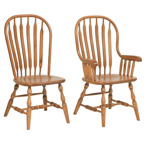 Amish Brownsville Jumbo Dining Chairs | Amish Furniture | Shipshewana Furniture Co.