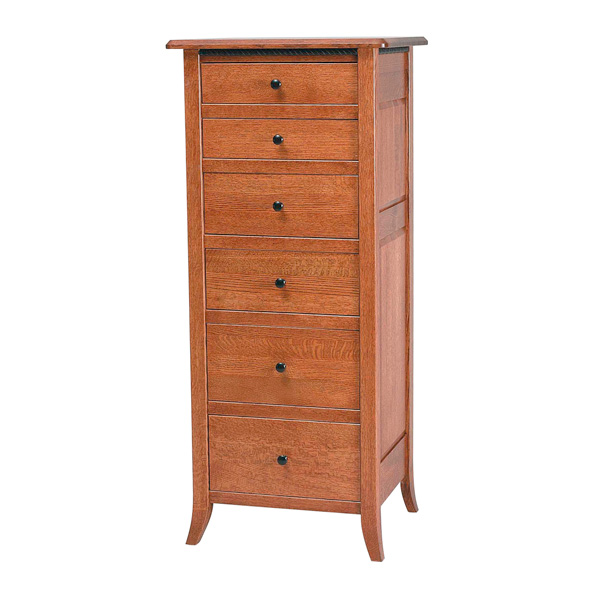 Amish Bunker Hill Lingerie Chest | Amish Furniture | Shipshewana Furniture Co.