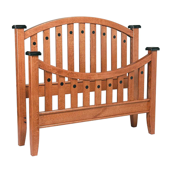 Amish Bunker Hill Slat Bed | Amish Furniture | Shipshewana Furniture Co.