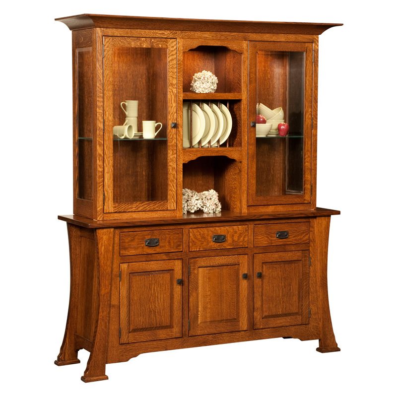 Amish Cambridge Hutch | Amish Furniture | Shipshewana Furniture Co.