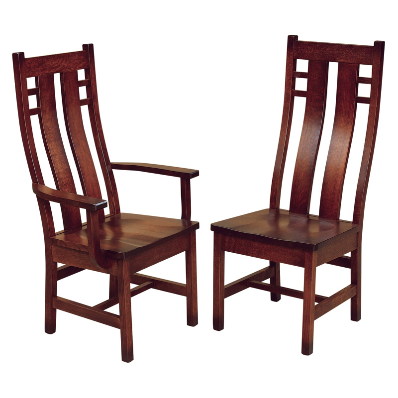 Amish Canadian Dining Chairs | Amish Furniture | Shipshewana Furniture Co.