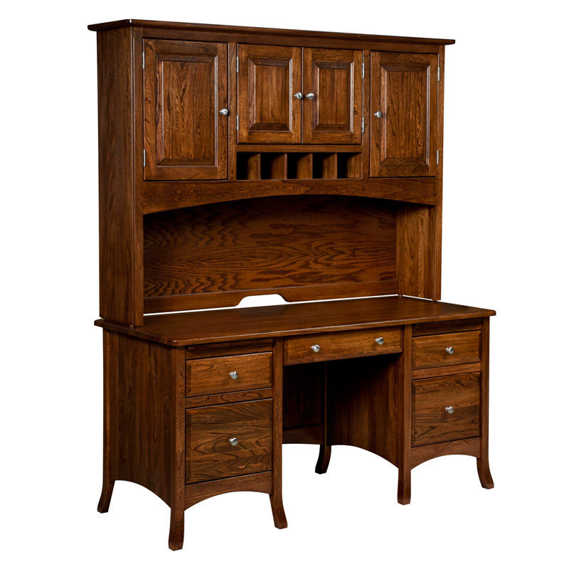 Amish Carlisle File Desk | Amish Furniture | Shipshewana Furniture Co.