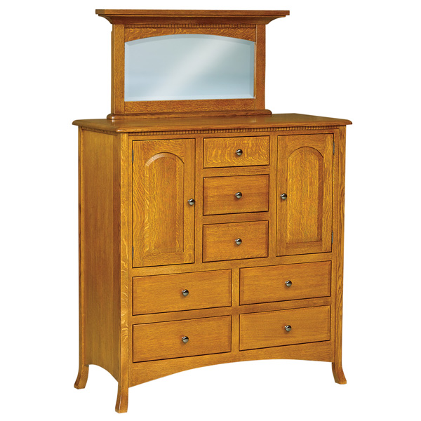 Amish Carlisle His & Hers Chest | Amish Furniture | Shipshewana Furniture Co.