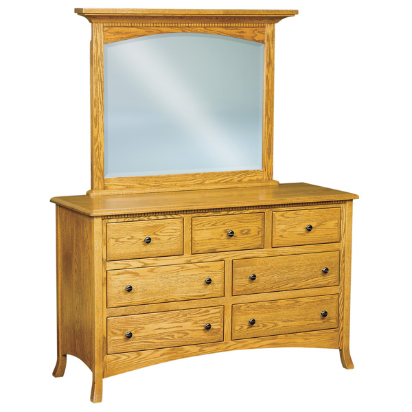 Amish Carlisle 7 Drawer Dresser 59"