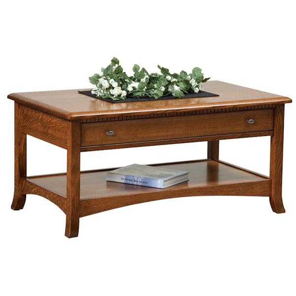 Boulder Creek Open Coffee Table Boulder Creek Open Coffee Table Amish Direct Furniture