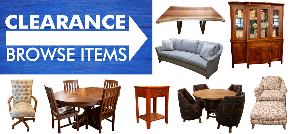 Amish Furniture - clearance items