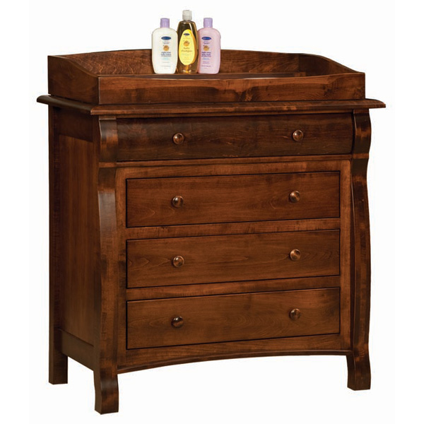 Amish Castlebury 4 Drawer Dresser | Amish Furniture | Shipshewana Furniture Co.