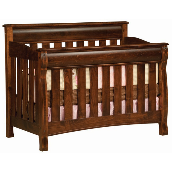 Amish Castlebury Crib | Amish Furniture | Shipshewana Furniture Co.