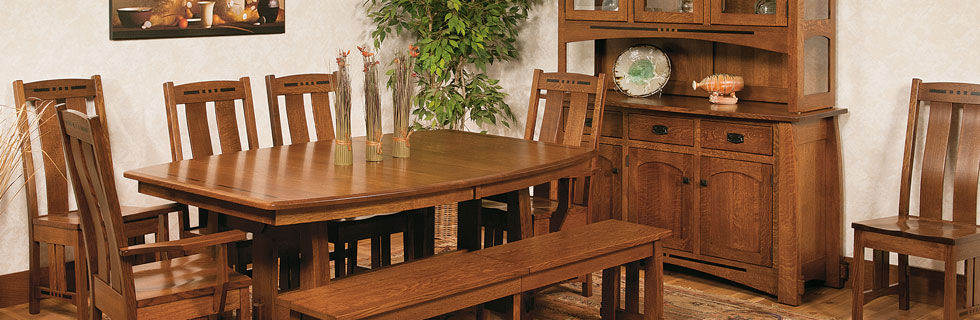 Amish Dining Room Furniture, Amish Dining Rooms, Amish Furniture ...