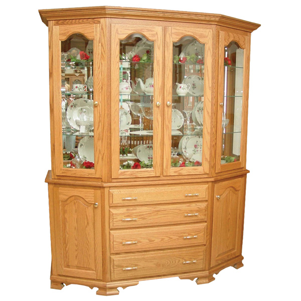 Amish Cavalier Hutch | Amish Furniture | Shipshewana Furniture Co.