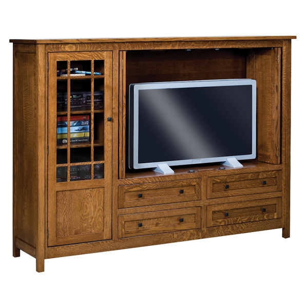 Amish Centennial TV Cabinet | Amish Furniture | Shipshewana Furniture Co.