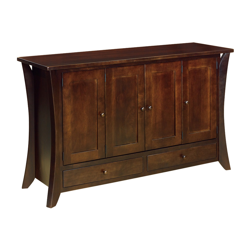 Amish Claiborne Leaf Storage | Amish Furniture | Shipshewana Furniture Co.
