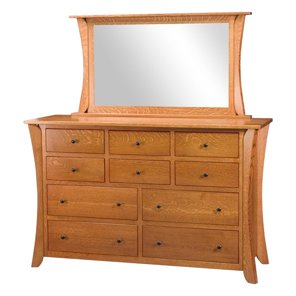 Claiborne 10 Drawer Dresser
