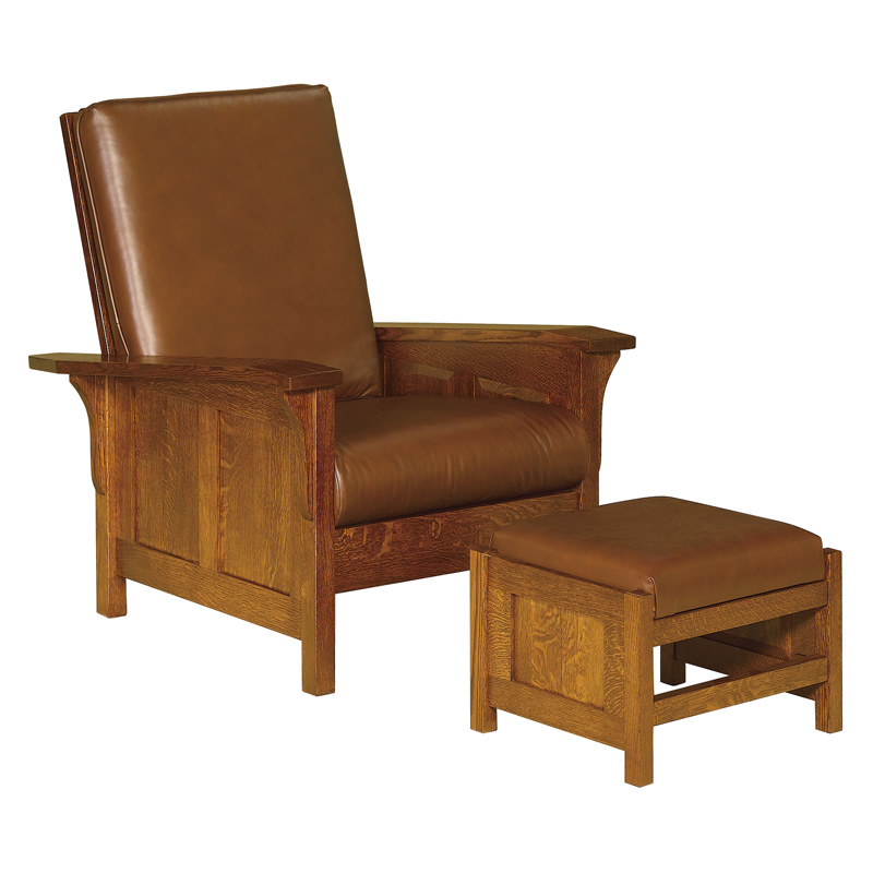 Amish Clearspring Panel Morris Chair | Amish Furniture | Shipshewana Furniture Co.