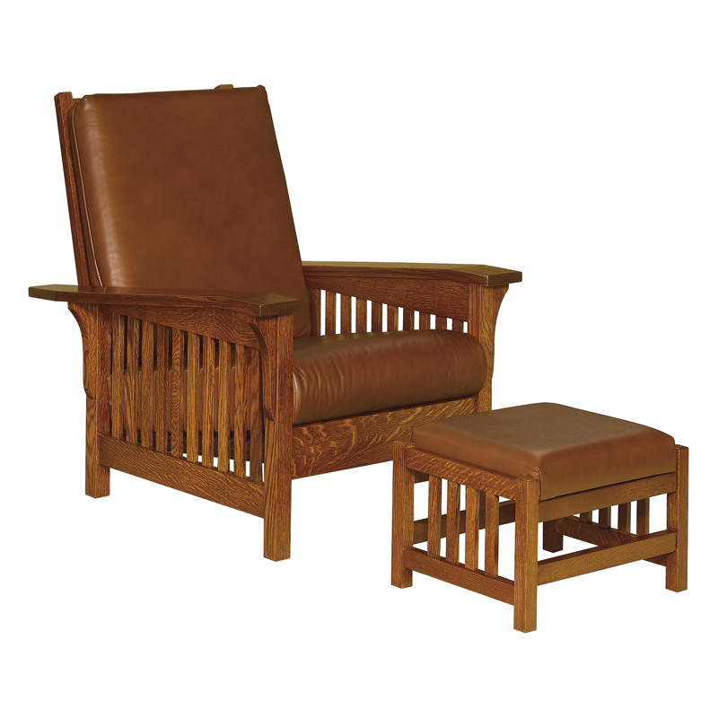 Charmant Clearspring Slat Morris Chair