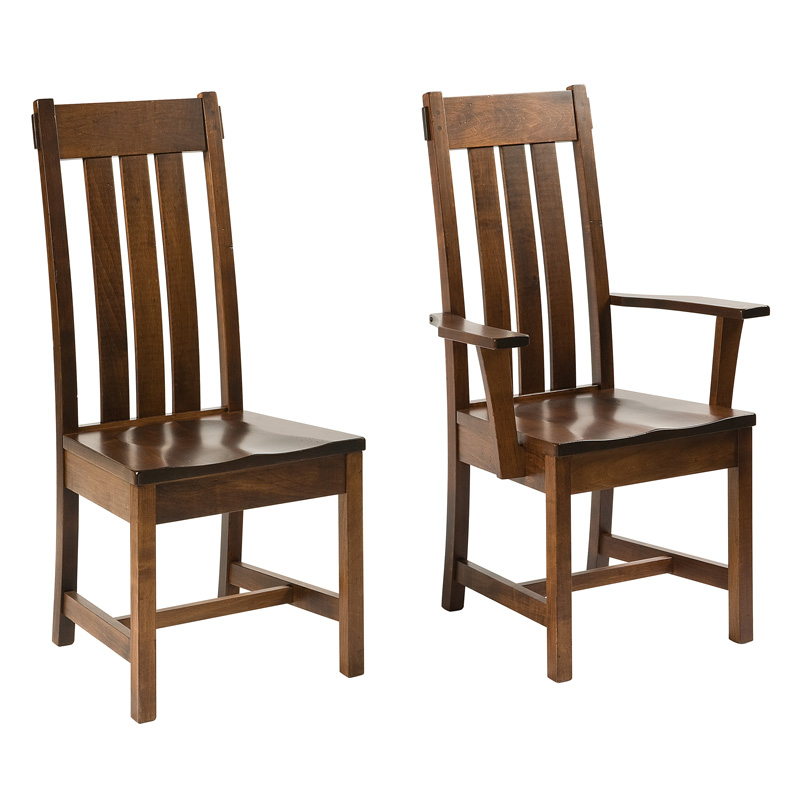 Amish Clinton Dining Chairs | Amish Furniture | Shipshewana Furniture Co.
