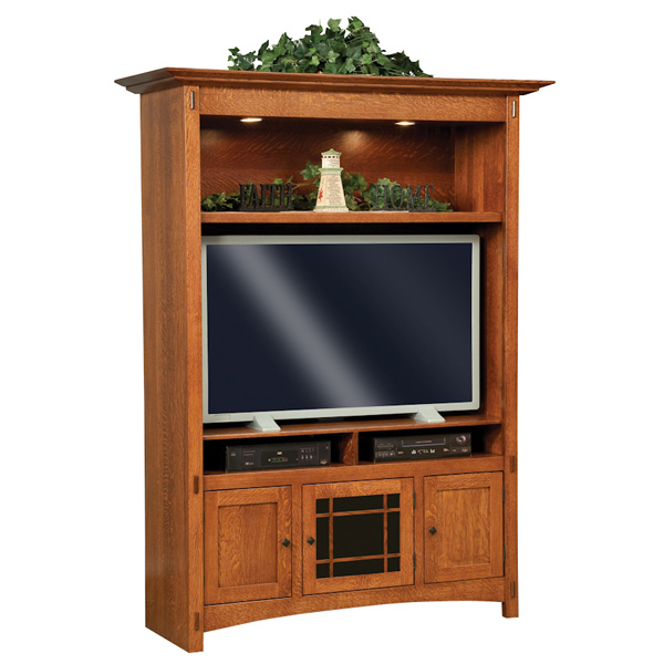 Amish Colbran Entertainment Center Unit | Amish Furniture | Shipshewana Furniture Co.