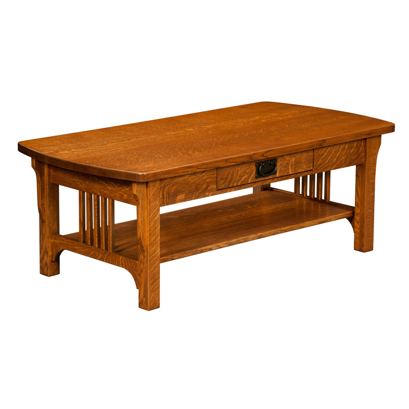 Craftsman Mission Coffee Table Amish Coffee Tables Amish Furniture