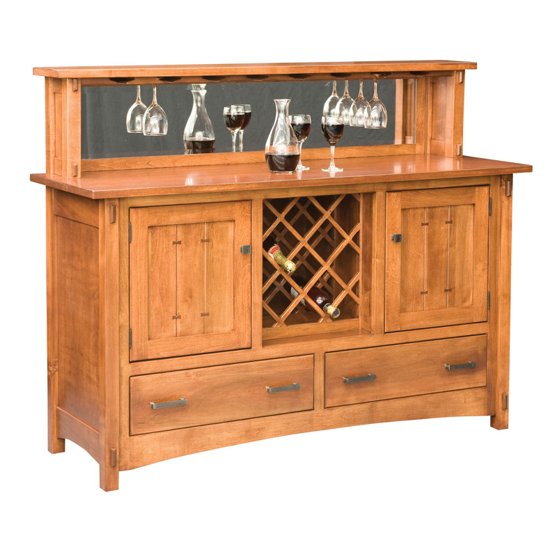 Amish Crestline Buffet | Amish Furniture | Shipshewana Furniture Co.