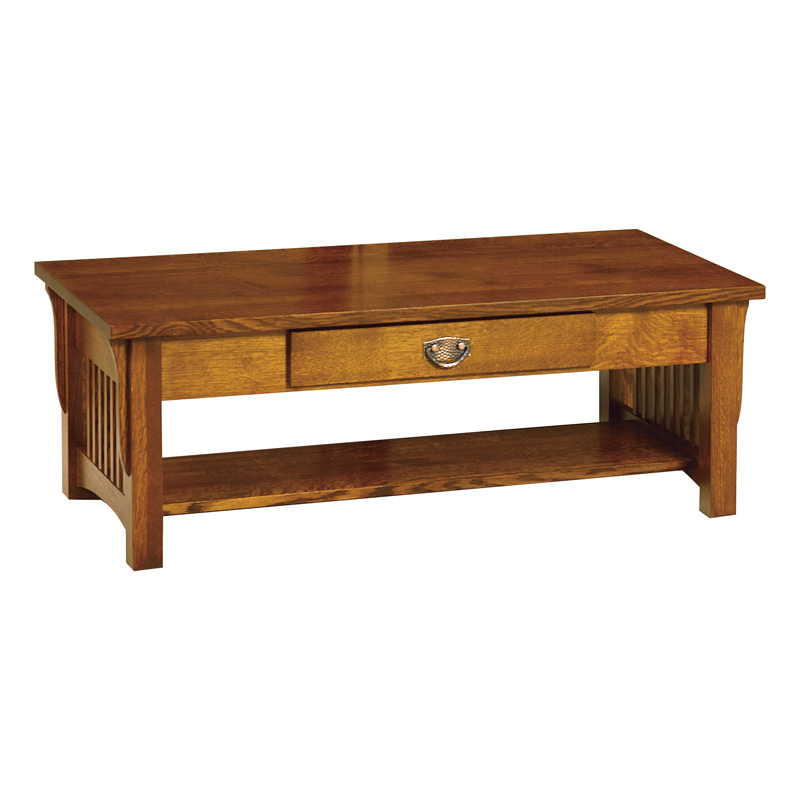 Amish Cubic Coffee Table | Amish Furniture | Shipshewana Furniture Co.