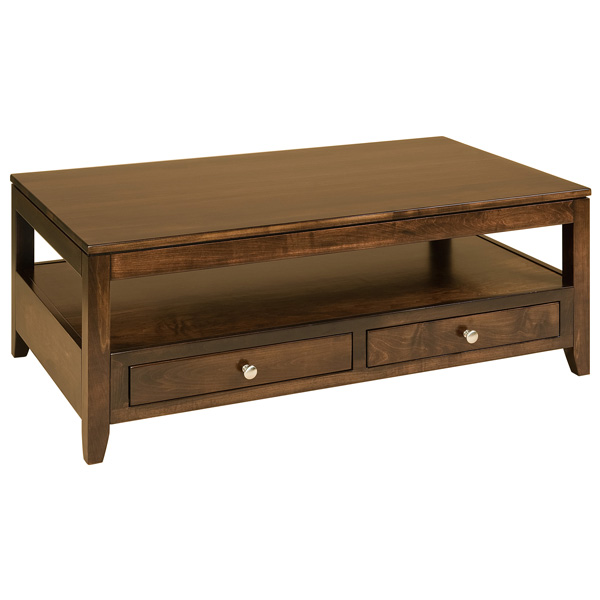 Cumberland Coffee Table (2 Drawers)