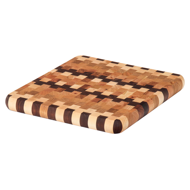Cutting Board End Grain Checkered