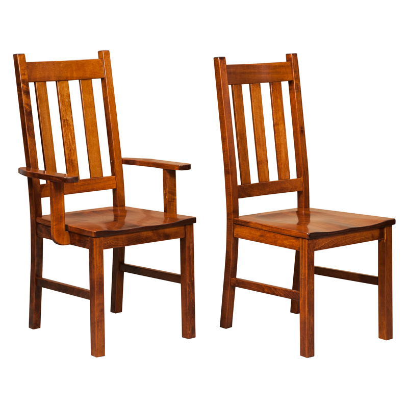 Amish Dalton Dining Chairs | Amish Furniture | Shipshewana Furniture Co.