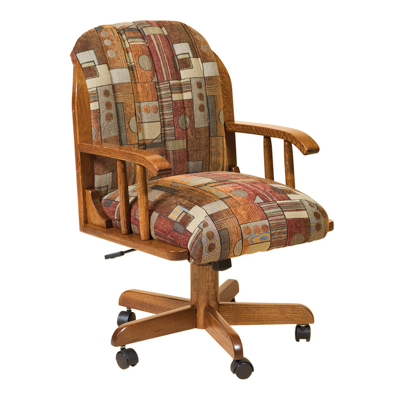 Amish Darlington Desk Chair | Amish Furniture | Shipshewana Furniture Co.