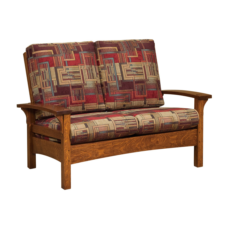 Amish Durango Loveseat | Amish Furniture | Shipshewana Furniture Co.