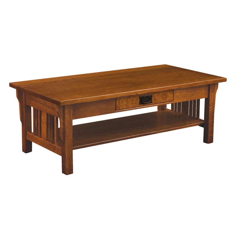 Amish Elliot Mission Coffee Table | Amish Furniture | Shipshewana Furniture Co.