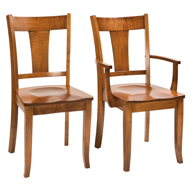 Amish Ember Dining Chairs | Amish Furniture | Shipshewana Furniture Co.