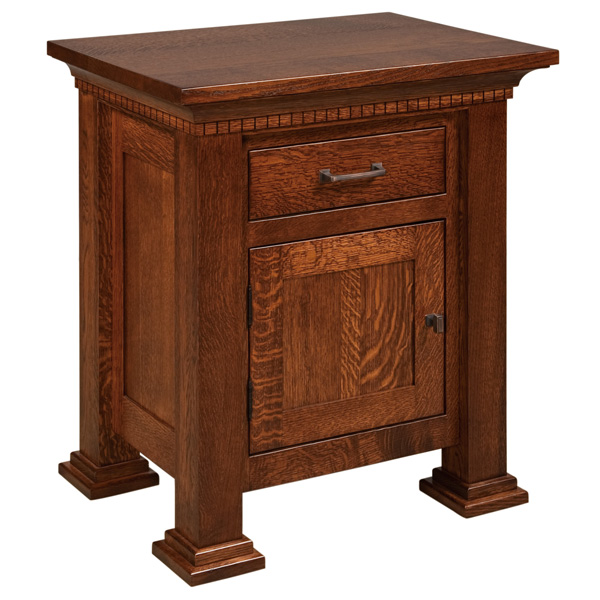 Empire 1 Drawer, 1 Door Nightstand
