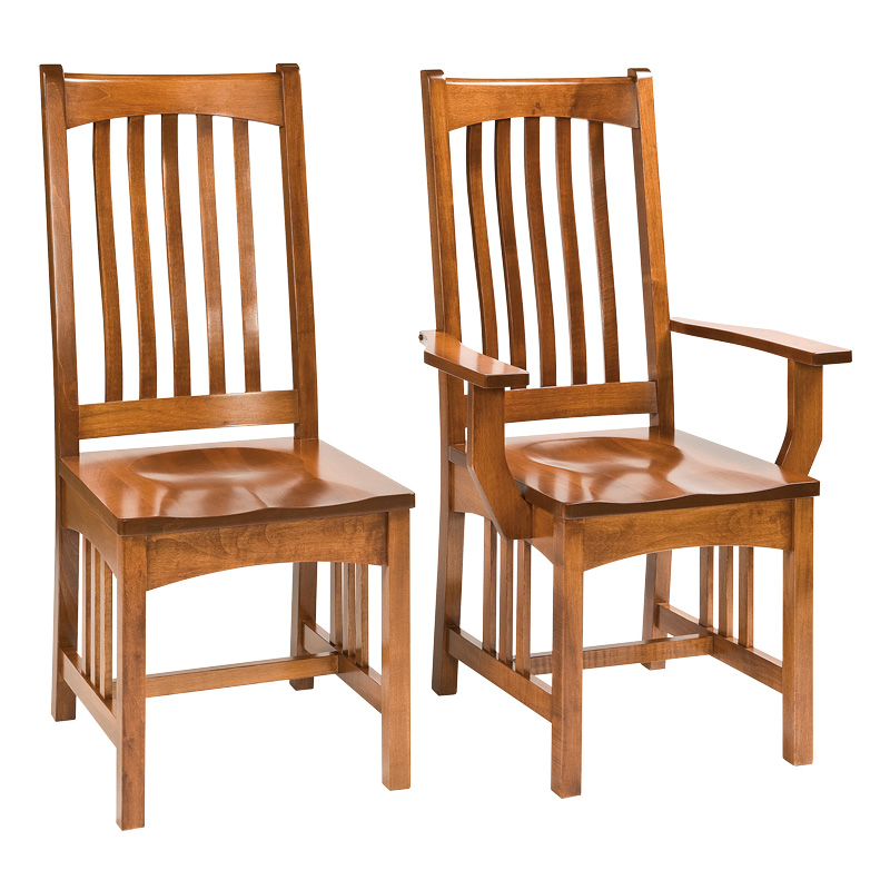 Amish Enderly Dining Chairs | Amish Furniture | Shipshewana Furniture Co.
