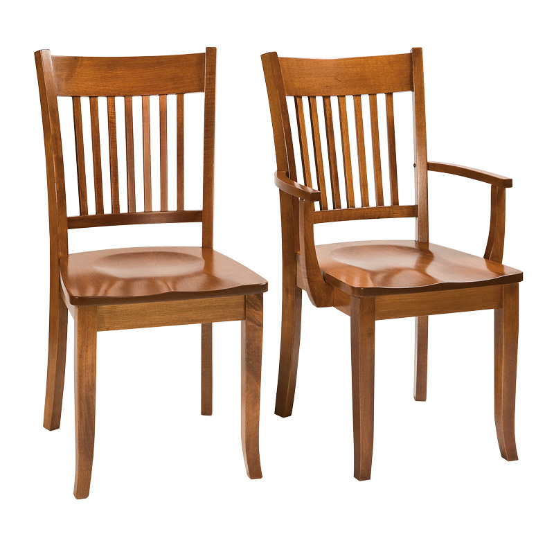 Amish Fairbury Dining Chairs | Amish Furniture | Shipshewana Furniture Co.
