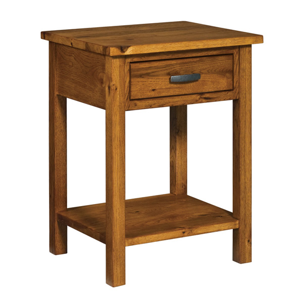 Flush Mission 1 Drawer Open Nightstand