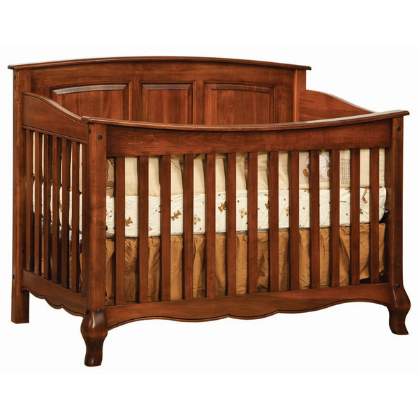 French Country Slat Crib