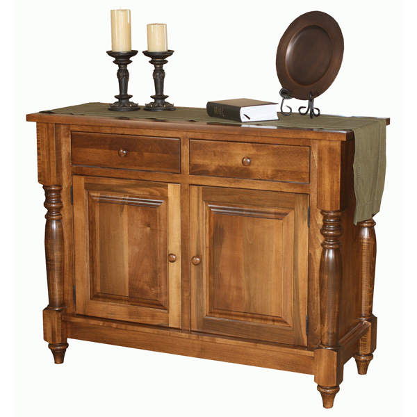 Amish Heather Buffet with Doors | Amish Furniture | Shipshewana Furniture Co.