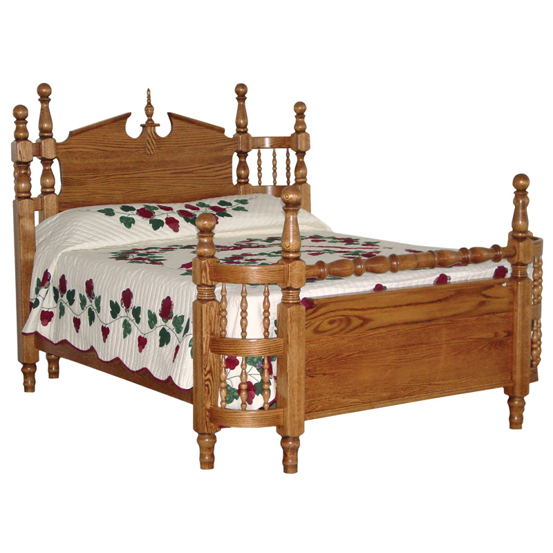 More Information, Amish Heirloom Wrap Bed | Amish Furniture | Shipshewana  Furniture Co.