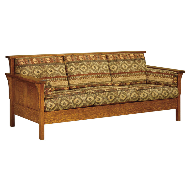 High Back Panel Sofa